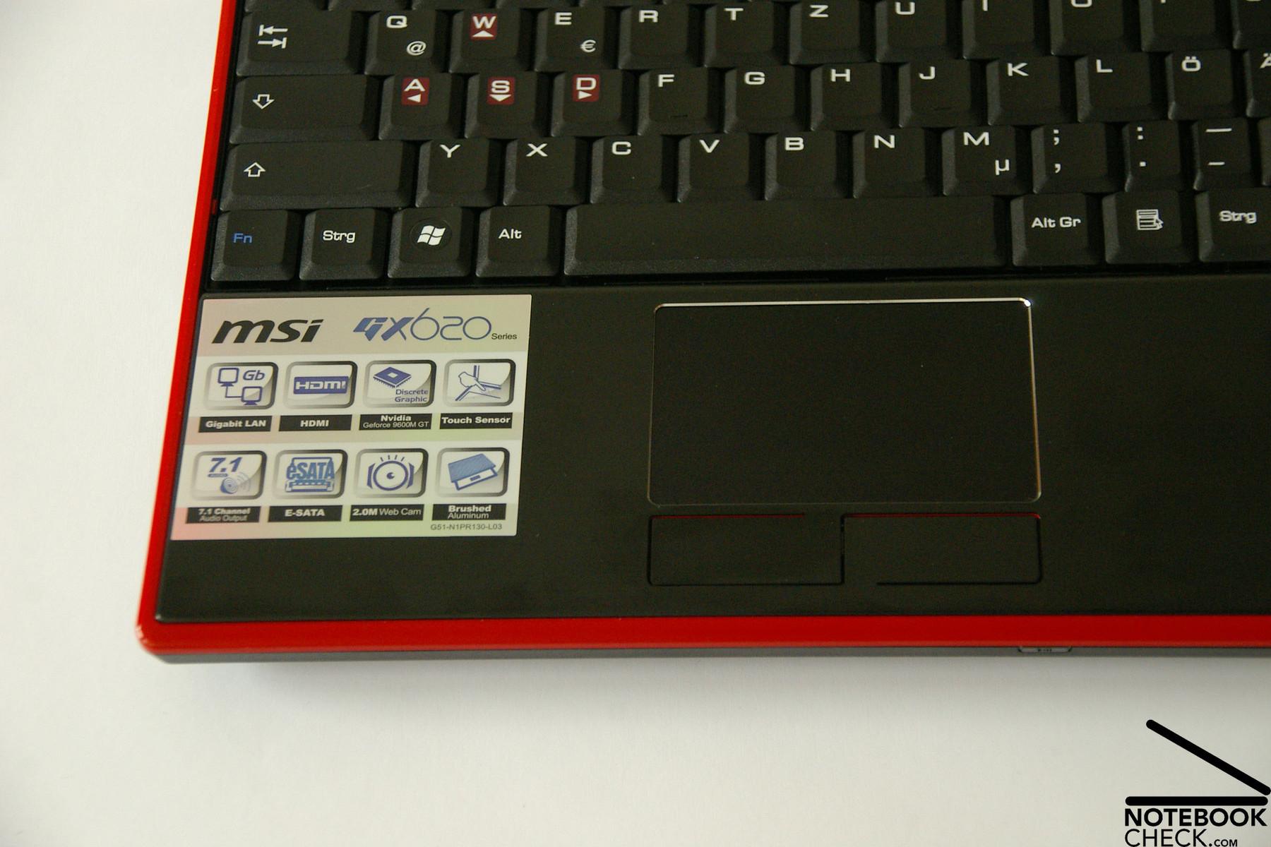MSI GX620 VGA Vista