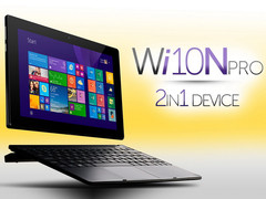 Allview Wi10N Pro: 2-in-1 mit Windows 8.1 für 240 Euro