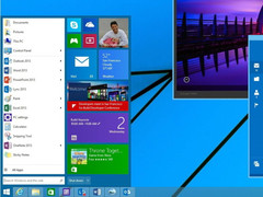 Windows 9: Threshold mit virtuellen Desktops aber ohne Charms-Bar