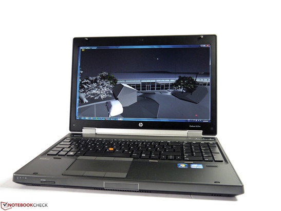 HP EliteBook 8570w mit AMD FirePro M4000 und FullHD-Display