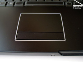 Alienware Area-51 m17x Touchpad