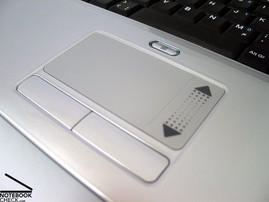Alienware S-4 m5550 Touchpad