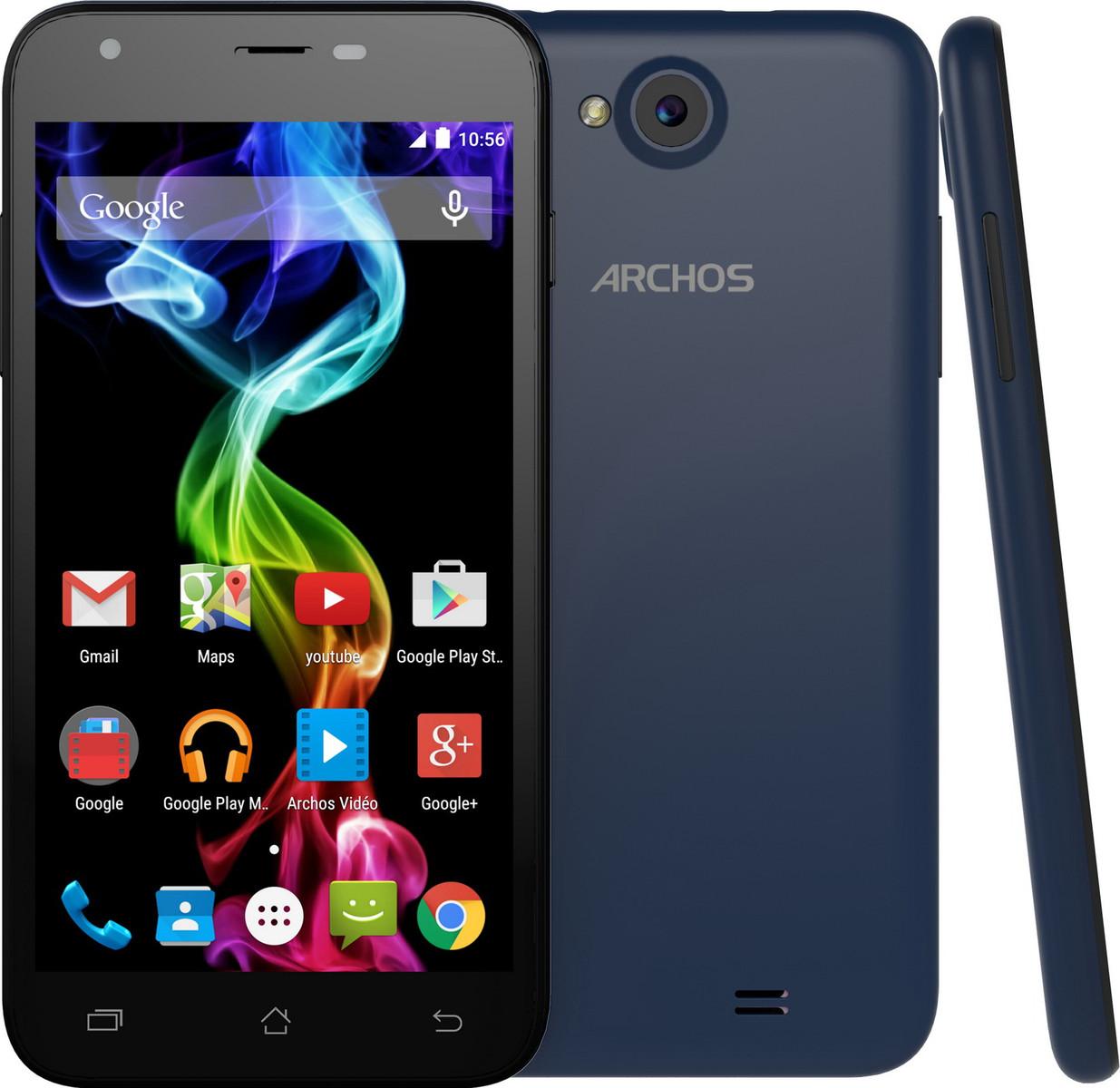 Archos Smartphones Archos 50c Und 55 Platinum Ab Oktober