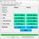 AS SSD (Samsung SSD)