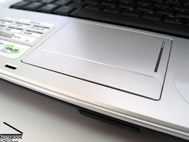 Asus A8JR Touchpad