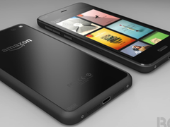 A round, gray-black thing: The Amazon smartphone (image: bgr.com)