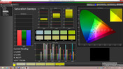 Calman 5.1 Software: Saturation Sweeps