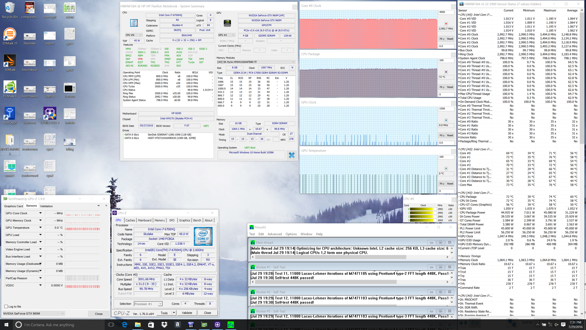 how to use prime95 to stress test cpu