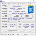 Screenshot des Programmes CPU-Z