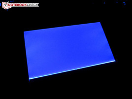 Touchpad beleuchtet