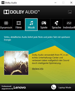 Dolby Audio Software