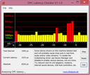 DPC Latency Checker Flugmodus On/Off Latenzen