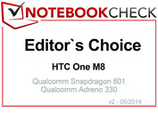 Editor's Choice im April 2014: HTC One M8