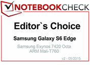 Editor's Choice im Mai 2015: Samsung Galaxy S6 Edge