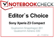 Editor's Choice im November 2014: Sony Xperia Z3