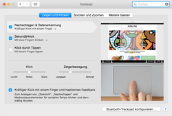 neues Force Touch Trackpad