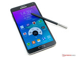Im Test: Samsung Galaxy Note 4 (SM-N910F).