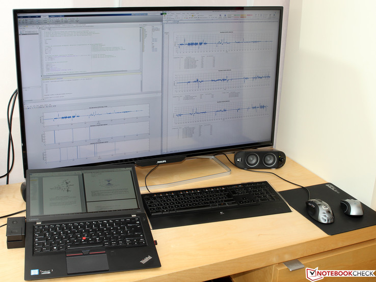 ThinkPad T460s an Philips BDM4065UC