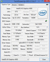 Systeminfo GPUZ Intel HD 4000