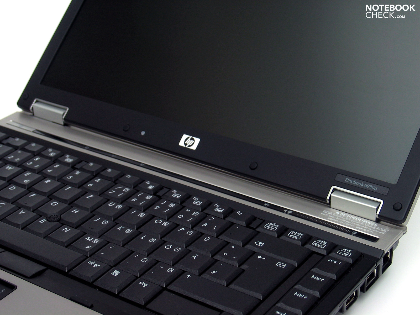 Test HP EliteBook 6930p Notebook