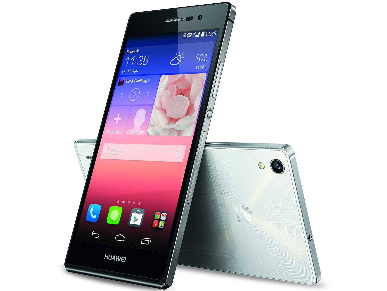 Huawei: 5-Zoll-Smartphone Ascend P7 vorgestellt ...