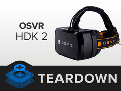 Razer: VR-Headset OSVR HDK 2 im Teardown