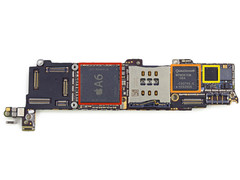 iPhone 5c: Apple A6 SoC