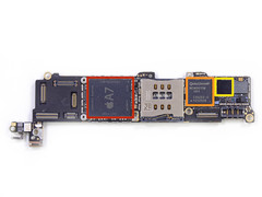 iPhone 5s: Apple A7 64-Bit-SoC