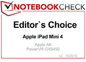 Editor's Choice im Oktober 2015: Apple iPad Mini 4