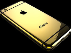 Luxus: iPhone 6 und iPhone 6 Plus in 24 Karat Gold