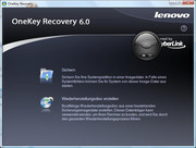 ... OneKey-Recovery, welches komfortable...