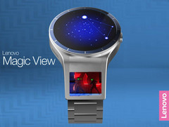 Lenovo Magic View: Smartwatch mit zwei Displays