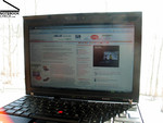 Lenovo Thinkpad X200s Outdoor