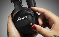 Marshall: On-Ear-Headset Mid Bluetooth für 200 Euro