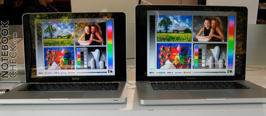 MacBook versus MacBook Air Blickwinkel
