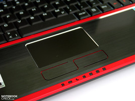 MSI GT725 Touchpad