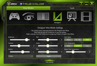 MSI True Color Tool
