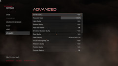 Advanced Settings I