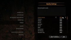 Quality Settings