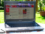 Sony Vaio TZ11XN Outdoor
