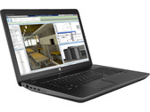 Test HP ZBook 17 G3 Workstation