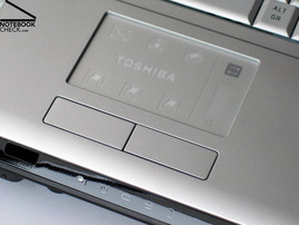 Toshiba Satellite X200 Touchpad