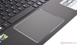 Touchpad des Acer Aspire F15