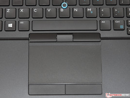 Touchpad und Trackpoint