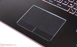 Touchpad des MSI GE72VR
