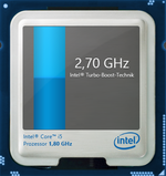 2,7 GHz maximaler Turbo Boost