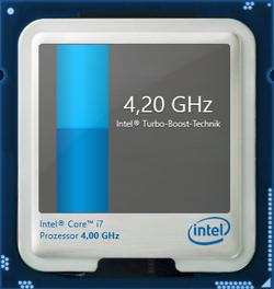 4,2 GHz maximale Turbo-Taktrate
