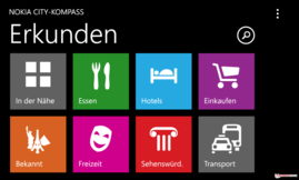 Nokia-City-Kompass mit Augmented Reality