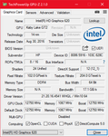 GPU-Z Intel HD Graphics 620