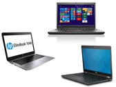 Im Vergleich: Lenovo ThinkPad T450s vs. HP EliteBook Folio 1040 G2 vs. Dell Latitude 14 E7450